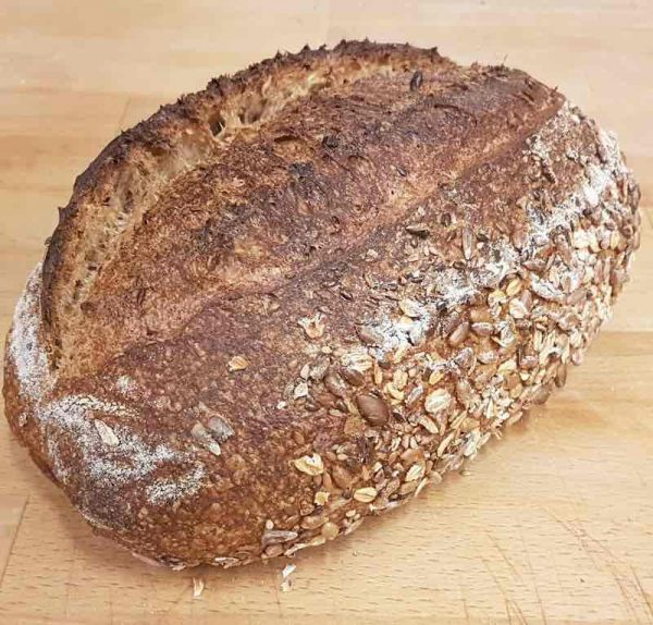Wholemeal 50/50 Sourdough with Seeds